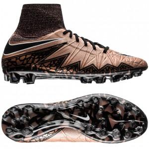 Nike Hypervenom Phantom II AG Bronze-Sort-Grøn fodboldstøvler
