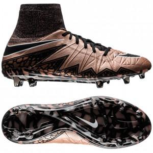 Nike Hypervenom Phantom II FG Bronze-Sort-Grøn fodboldstøvler