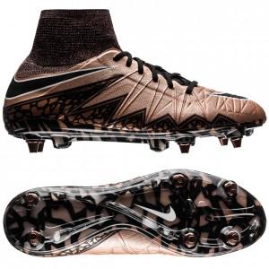 Nike Hypervenom Phantom II SG-PRO Bronze-Sort-Grøn fodboldstøvler