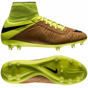 Nike Hypervenom Phantom II Skind Tech Craft FG Sand-Sort-Neon
