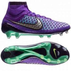 Nike Magista Obra FG Lilla-Turkis-Sølv fodboldstøvler
