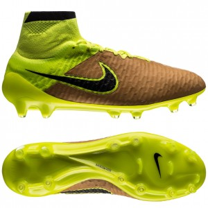 Nike Magista Obra Skind Tech Craft FG Sand-Sort-Neon