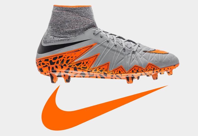 Nike fodboldstøvler grå