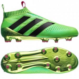 adidas ACE 16+ PureControl FG-AG Grøn-Pink-Sort fodboldstøvler