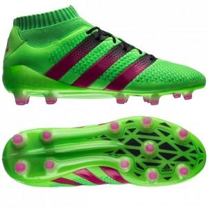 adidas ACE 16.1 Primeknit FG-AG Grøn-Pink-Sort fodboldstøvler
