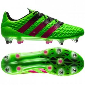 adidas ACE 16.1 SG Grøn-Pink-Sort fodboldstøvler