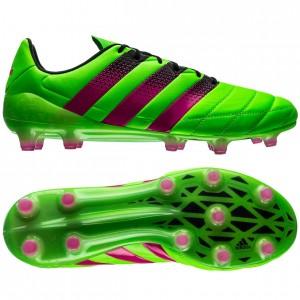 adidas ACE 16.1 Skind FG-AG Grøn-Pink-Sort fodboldstøvler