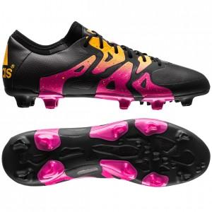 adidas X 15.1 FG-AG Sort-Pink-Gul