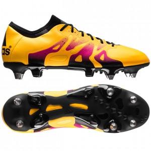 adidas X 15.1 SG Gul-Orange-Pink fodboldstøvler
