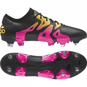 adidas X 15.1 SG Sort-Pink-Gul