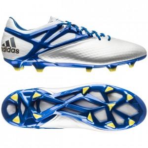 Adidas Messi 15.1 FG-AG Hvid-Blå fodboldstøvler