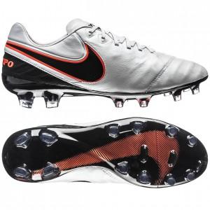 Nike Tiempo Legend 6 FG Hvid-Sort-Orange fodboldstøvler
