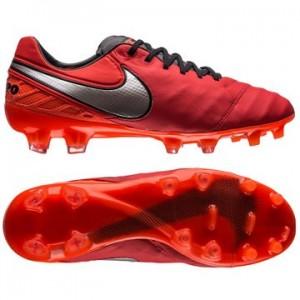Nike Tiempo Legend 6 FG Rød-Sølv fodboldstøvler