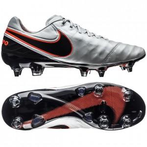 Nike Tiempo Legend 6 SG-PRO Hvid-Sort-Orange fodboldstøvler