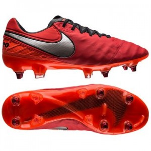 Nike Tiempo Legend 6 SG-PRO Rød-Sølv fodboldstøvler
