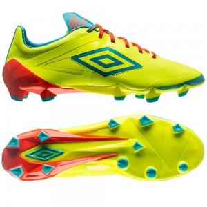 Umbro Velocita Pro HG Gul-Blå fodboldstøvler
