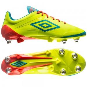 Umbro Velocita Pro SG Gul-Blå fodboldstøvler
