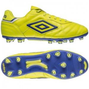 Umbro Speciali Eternal Pro HG Gul-Lilla-Hvid fodboldstøvler