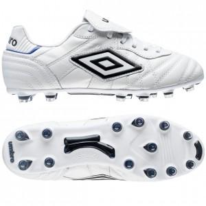 Umbro Speciali Eternal Pro HG Hvid-Sort-Blå fodboldstøvler