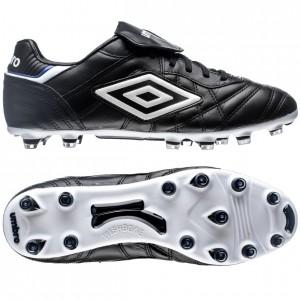 Umbro Speciali Eternal Pro HG Sort-Hvid-Blå fodboldstøvler