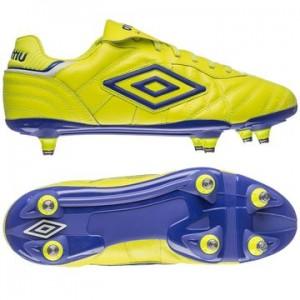 Umbro Speciali Eternal Pro SG Gul-Lilla-Hvid fodboldstøvler