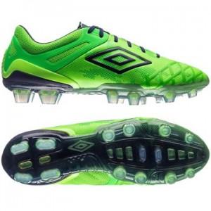 Umbro UX 2.0 Pro HG Grøn-Navy fodboldstøvler
