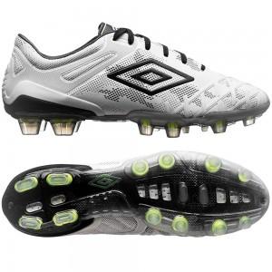 Umbro UX 2.0 Pro HG Hvid-Sort-Gul fodboldstøvler