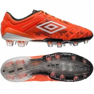Umbro UX 2.0 Pro HG Orange-Hvid-Sort fodboldstøvler