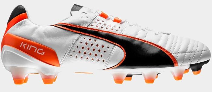 Puma King - hvide fodboldstøvler
