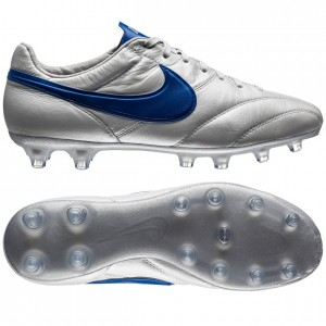 Nike Premier FG LIMITED EDITION Hvid-Blå fodboldstøvler