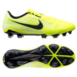 Nike-Phantom-Venom-fodboldstøvler-neon-hvid