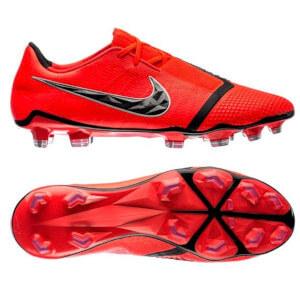 Nike-Phantom-Venom-fodboldstøvler-rød-sort